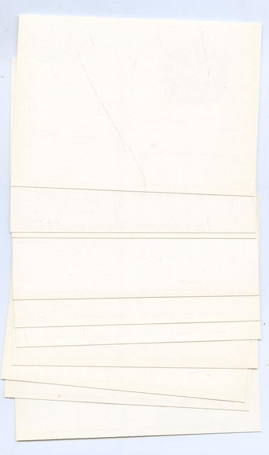 Набор почтовых открыток соригинальной маркой, без повторов (10 шт.) (СССР)
