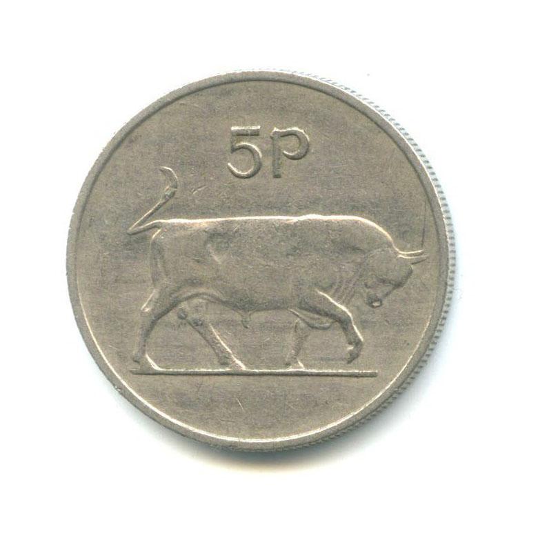 5 пенсов 1969 года (Ирландия)
