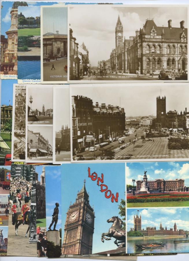 Набор почтовых карточек «Лондон» (15 шт.) (Великобритания)