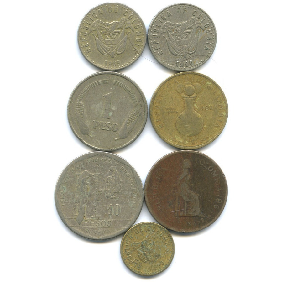 Набор монет (Колумбия)