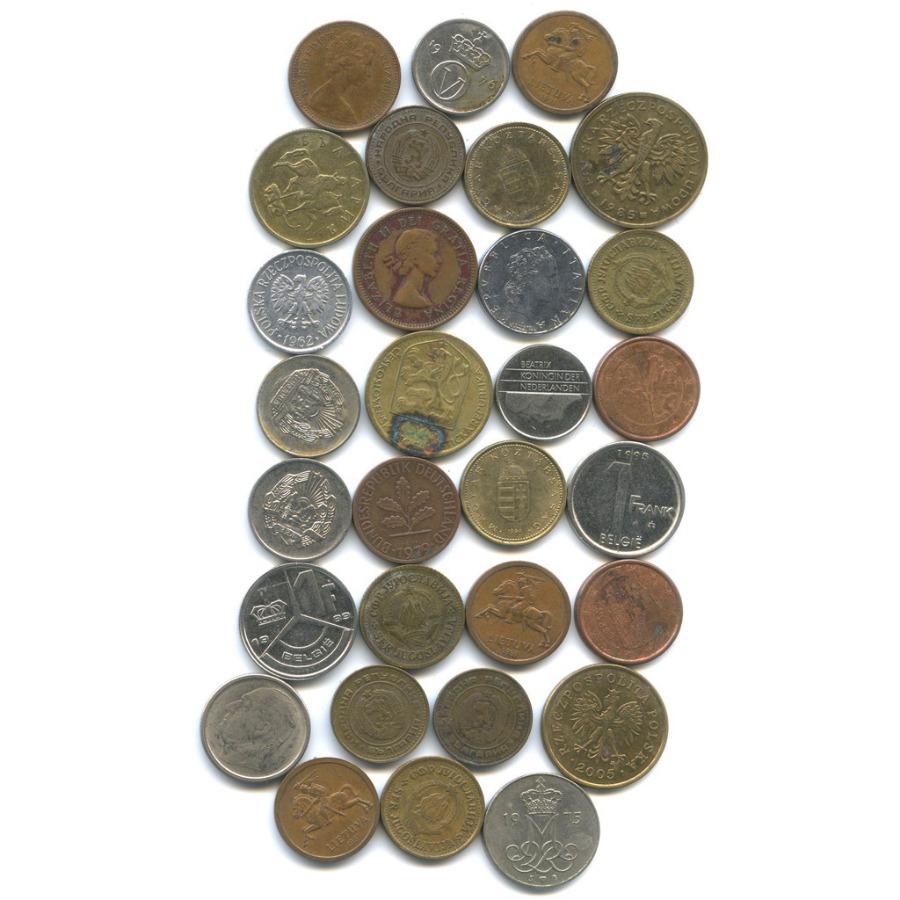Набор монет - разные страны (30 шт.)