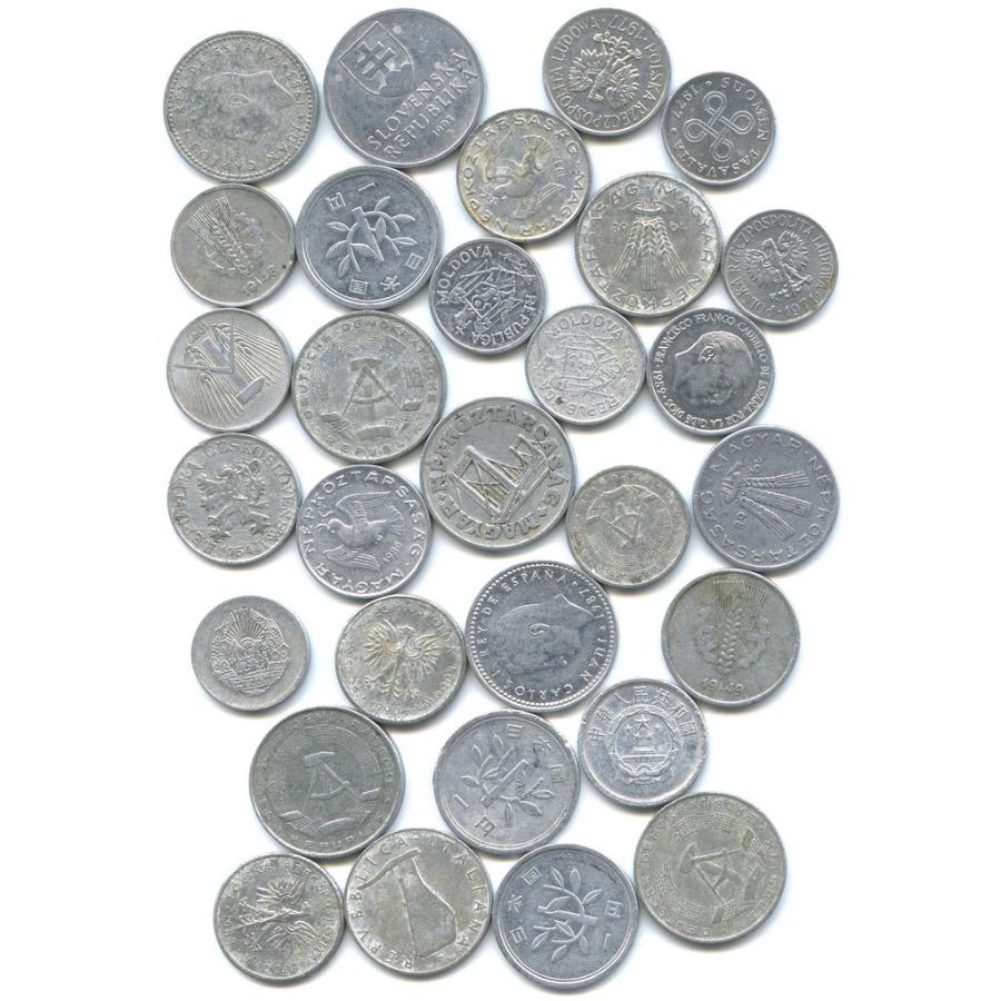 Набор монет, разные страны (30 шт)