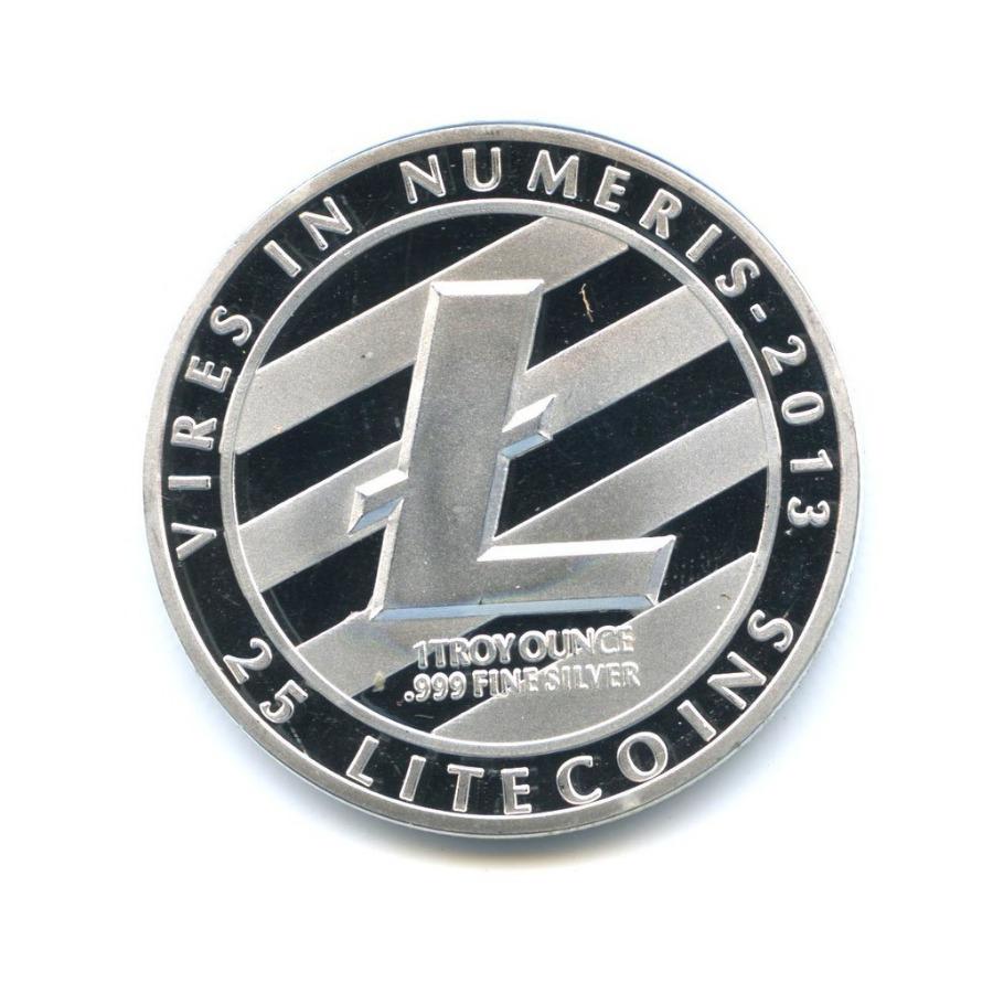Жетон «Litecoin - Vires inNumeris»
