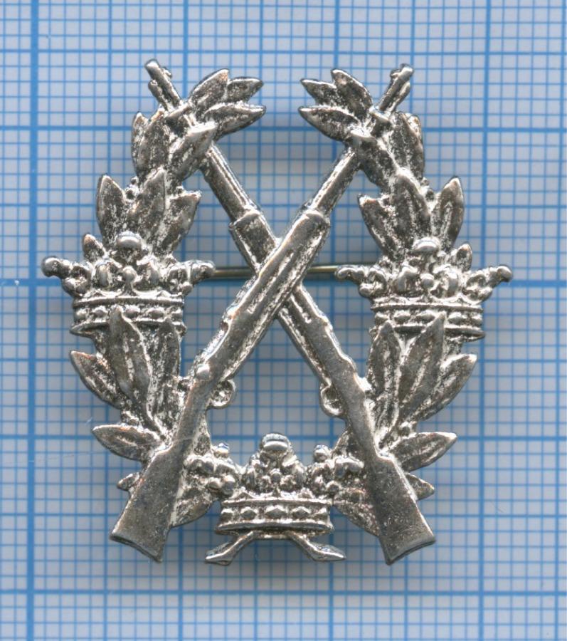 Знак армейский «Заотличную стрельбу извинтовки», IIстепень (Швеция)