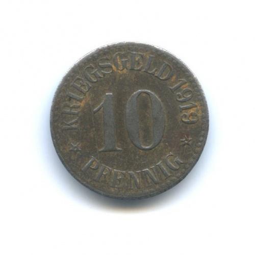 10 пфеннигов (нотгельд, Кассель) 1919 года (Германия)