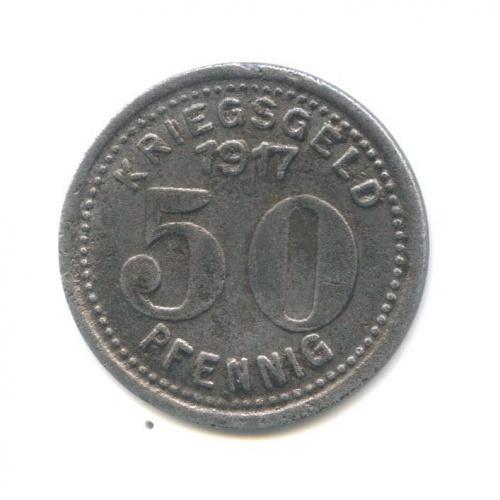 50 пфеннигов (нотгельд, Эльберфельде) 1917 года (Германия)