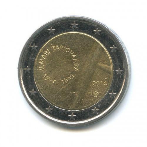 2 евро - 100 лет со дня рождения дизайнера Илмари Тапиоваара 2014 года (Финляндия)