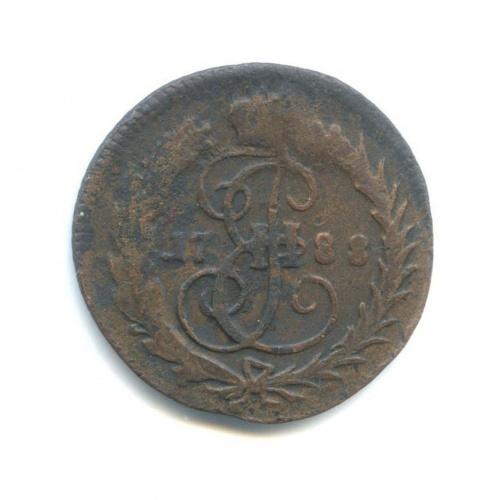 Денга (1/2 копейки), ББ, большой кружок 1788 года (Российская Империя)