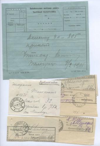 Набор телеграмм (Российская Империя)