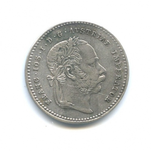 20 крейцеров - Франц Иосиф I (Австро-Венгрия) 1870 года