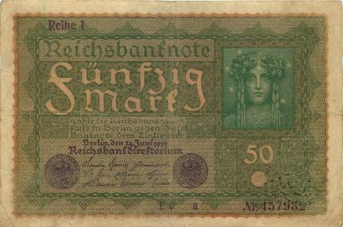 50 марок 1919 года (Германия)
