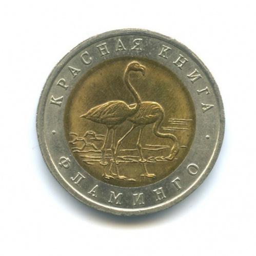 50 рублей — Красная книга - Фламинго 1994 года (Россия)