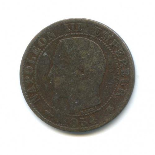 5 сантимов, Наполеон III 1854 года (Франция)