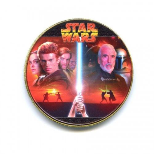Жетон «Star Wars» (вцвете, под золото)