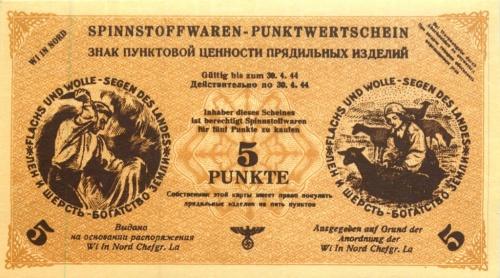 5 пунктов (оккупация Латвии) (Германия (Третий рейх))