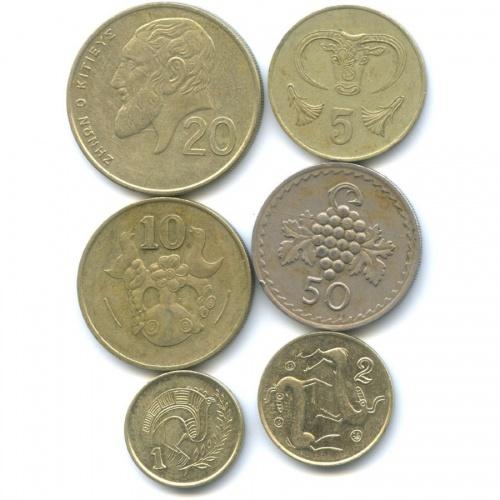 Набор монет (Кипр)