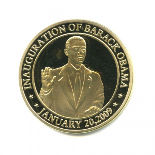 Жетон «Инаугурация Барака Обамы, January 20, 2009»