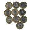 Набор юбилейных монет 10 рублей — Российская Федерация - Республики иобласти (Россия)
