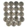 Набор монет 1 копейка 1999 года СПМД (Россия)