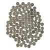 Набор монет 1 копейка (157 шт) (Россия)