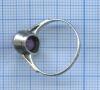 Кольцо саметистом, серебро (875 проба)