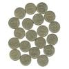 Набор монет 1 рубль (20 шт.) 1999 года ММД, СПМД (Россия)