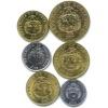 Набор монет 2007, 2008 (Коста-Рика)