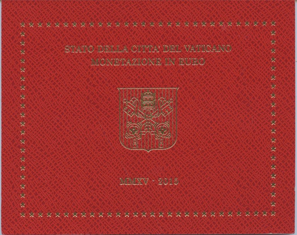 Набор монет (вальбоме) 2015 года (Ватикан)