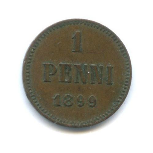 1 пенни 1899 года (Российская Империя)