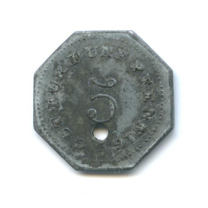 5 пфеннигов, Бад-Тёльц (нотгельд) 1917 года (Германия)
