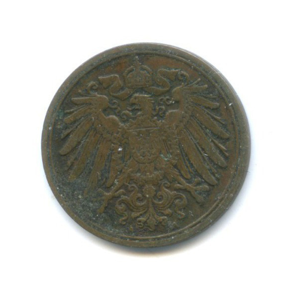 1 пфенниг 1908 года (Германия)