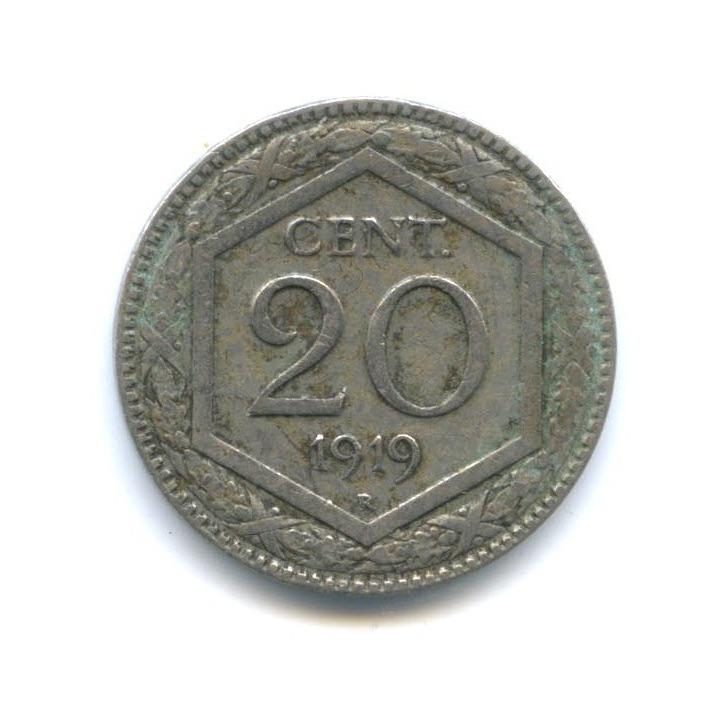 20 чентезимо 1919 года (Италия)
