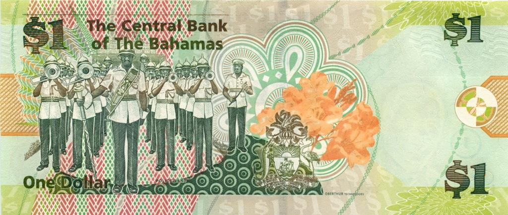 1 доллар 2008 года (Багамы)