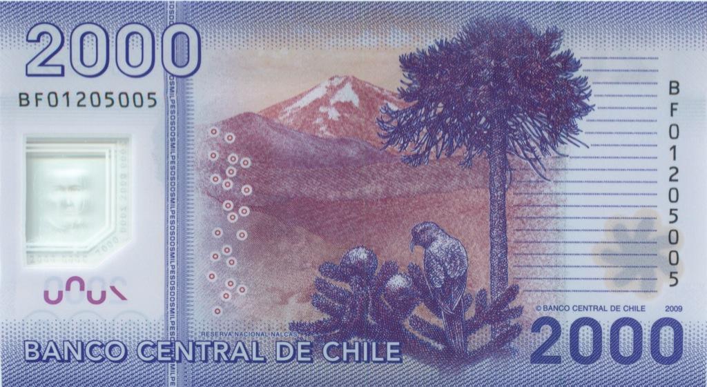 2000 песо 2009 года (Чили)