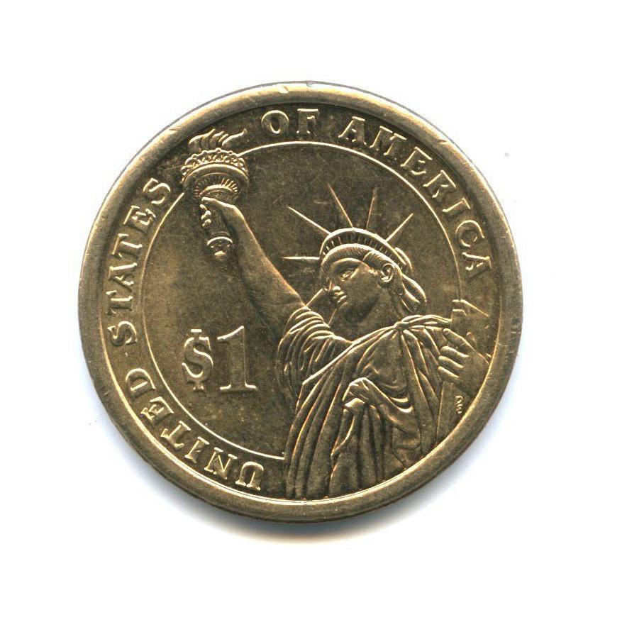 1 доллар — 5-ый Президент США - Джеймс Монро (1817-1825) 2008 года D (США)