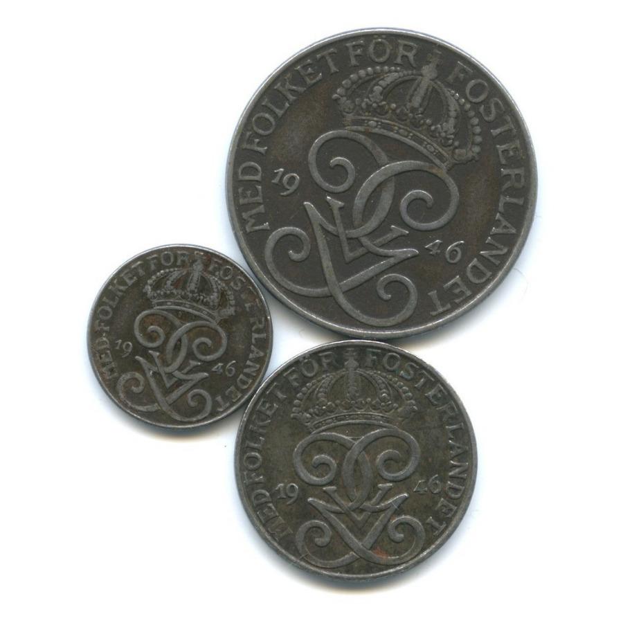 Набор монет 1946 года (Швеция)