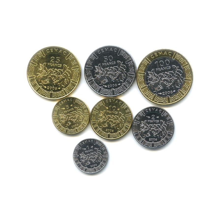 Набор монет - Центральная Африка 2006 года