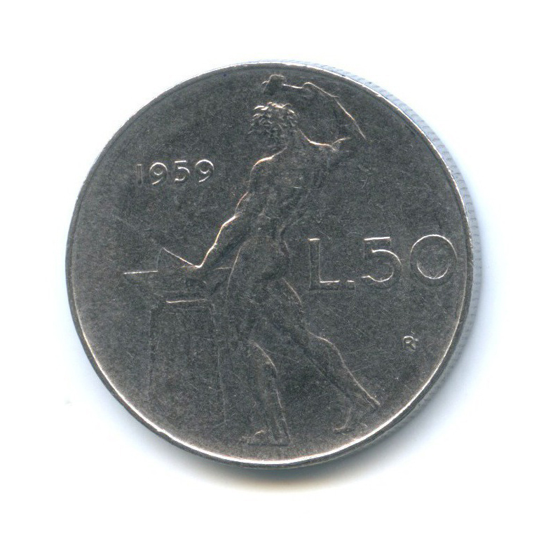 50 лир 1959 года (Италия)