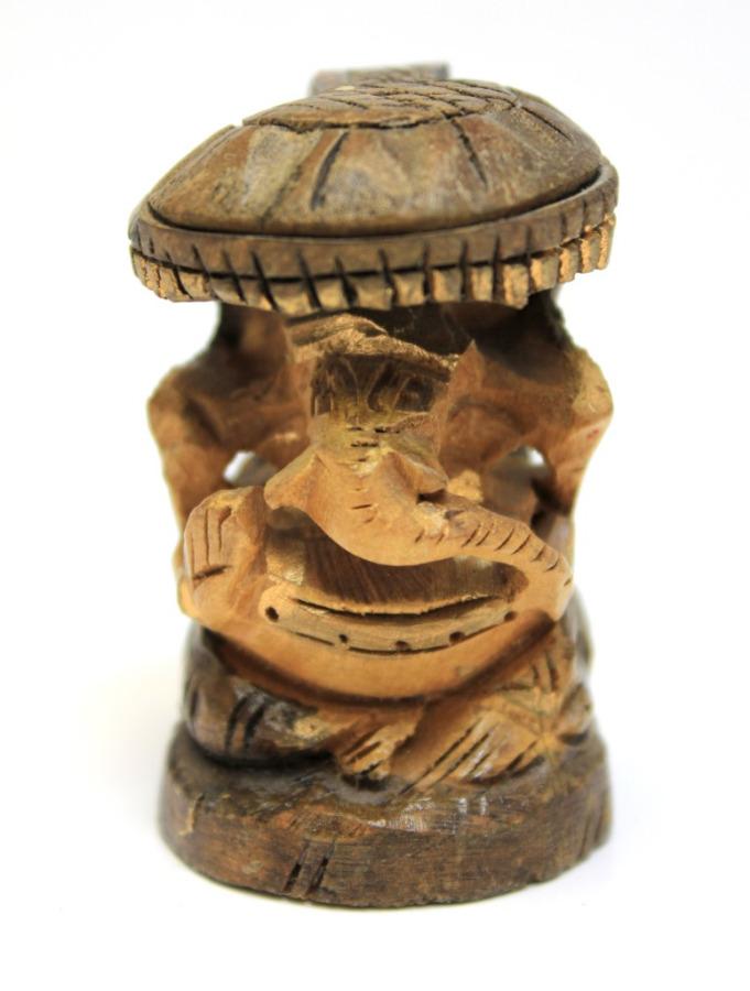 Фигурка «Ганеш», сандал, ручная резьба, 5,5 см