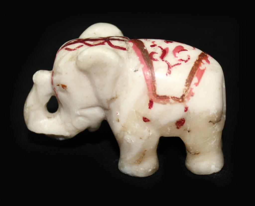 Фигурка «Слон», мрамор, 3,5 см