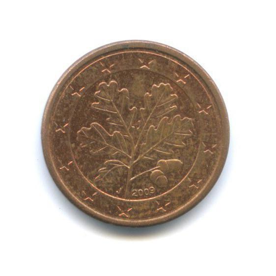 1 цент 2009 года J (Германия)