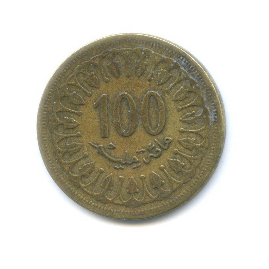 100 миллимов 1983 года (Тунис)