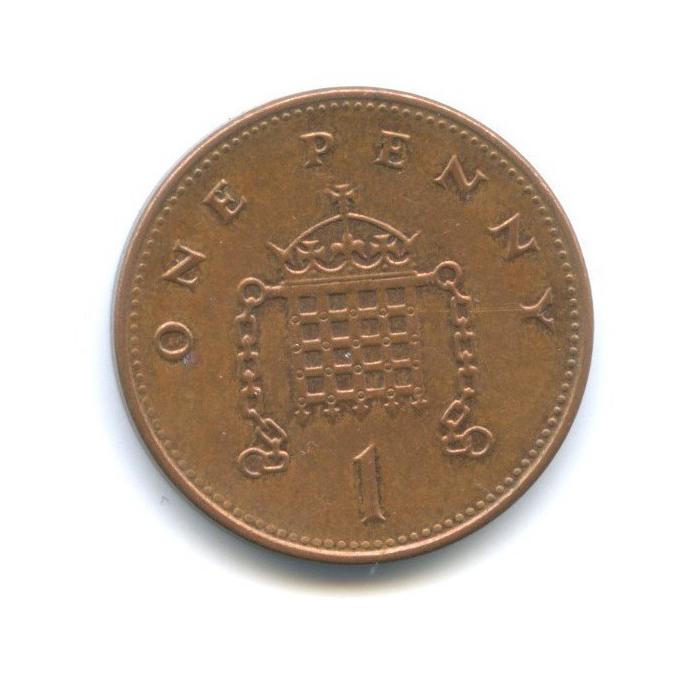 1 пенни 1998 года (Великобритания)