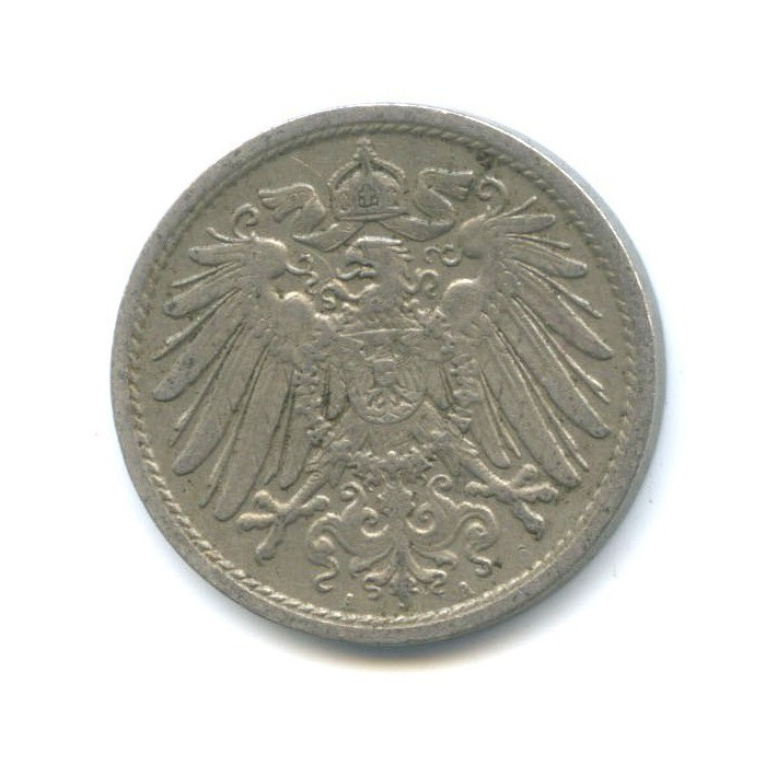 10 пфеннигов 1908 года А (Германия)