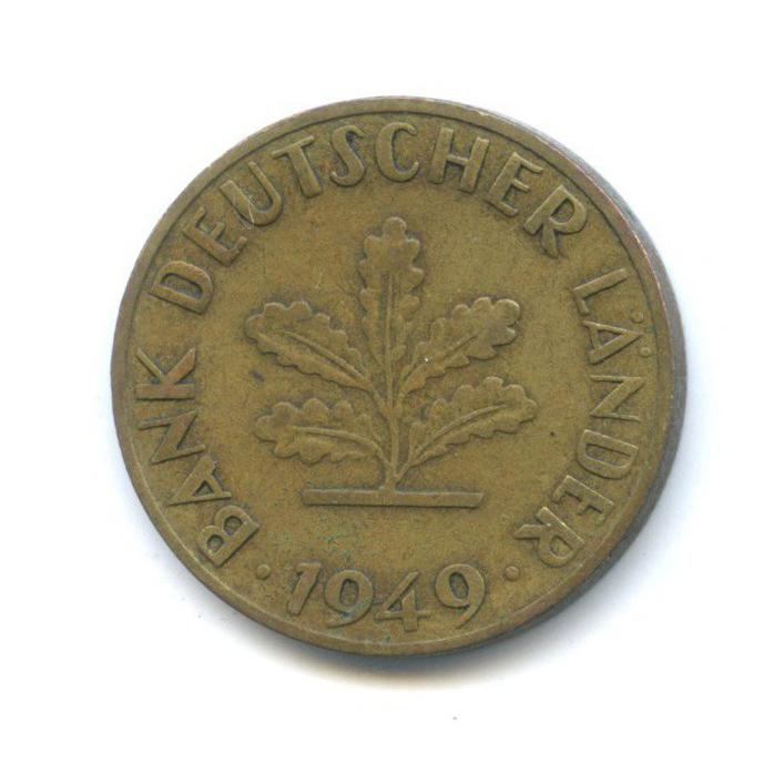 10 пфеннигов 1949 года F (Германия)