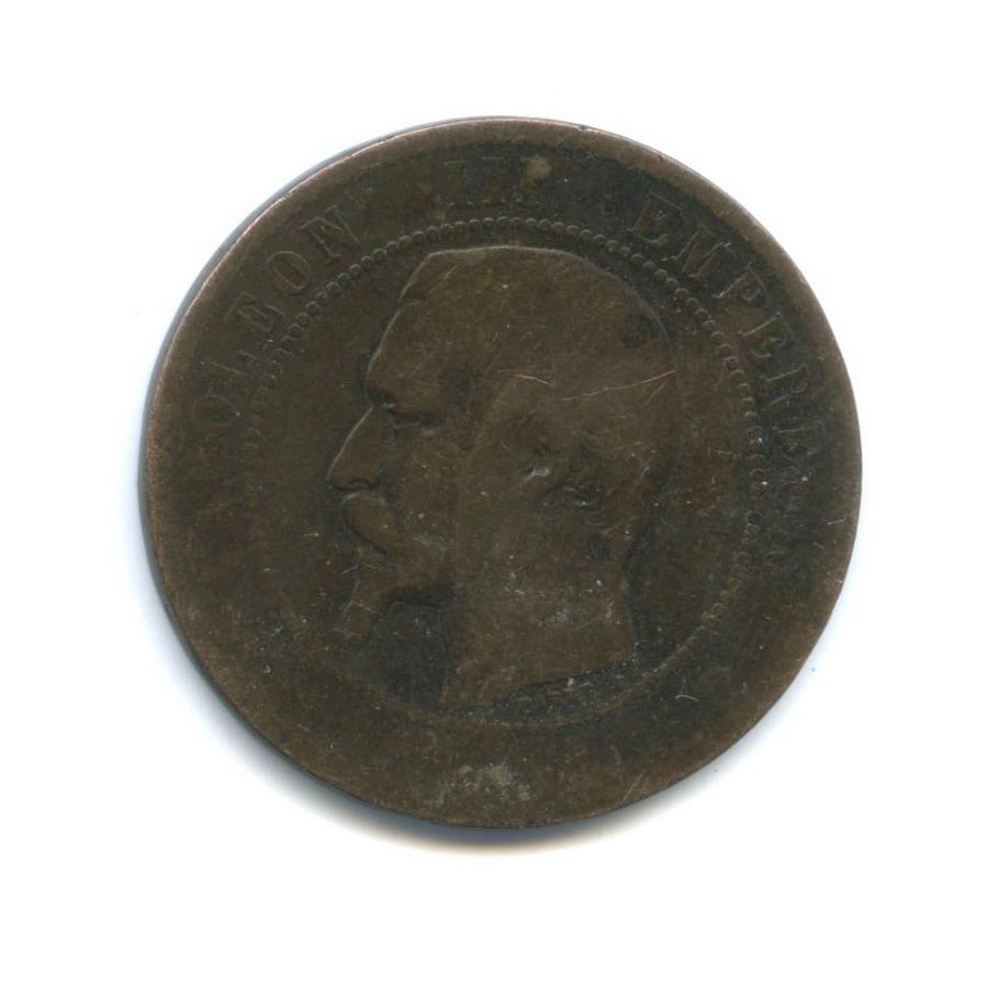 10 сантимов - Наполеон III 18?? (Франция)