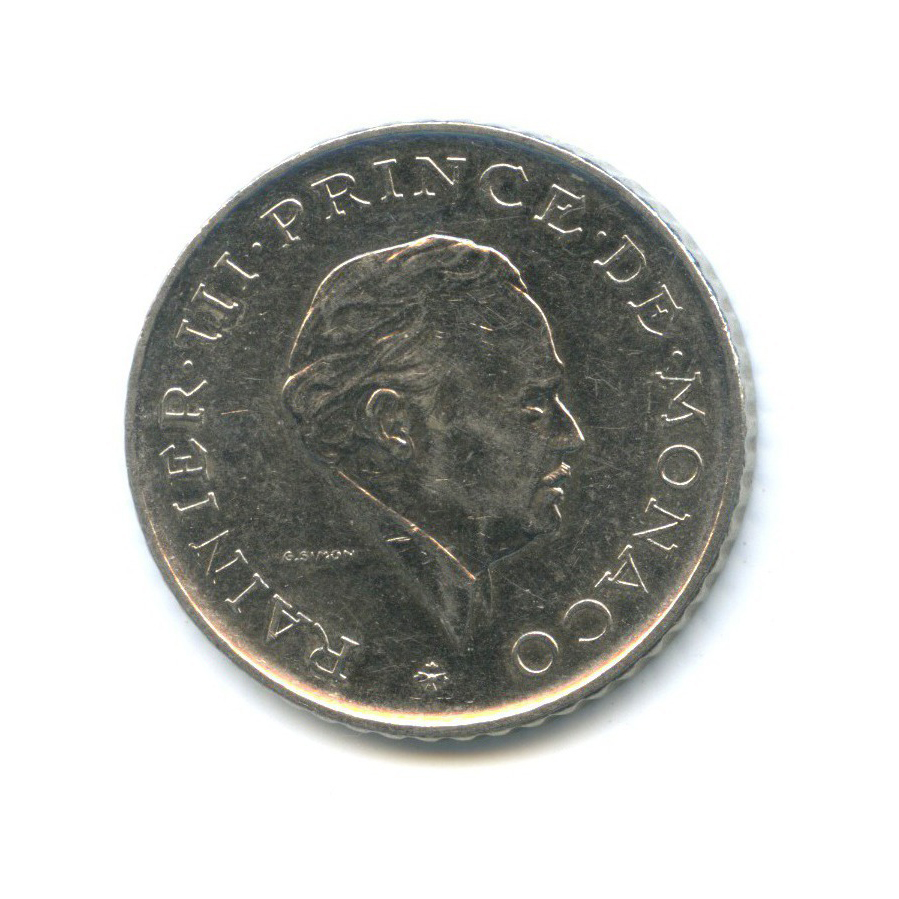 2 франка 1981 года (Монако)
