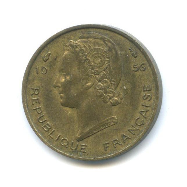 5 франков, Французская Западная Африка 1956 года