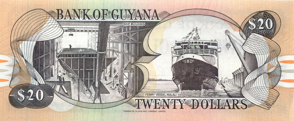 20 долларов (Британская Гвиана)