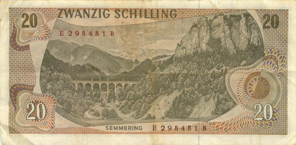 20 шиллингов 1967 года (Австрия)